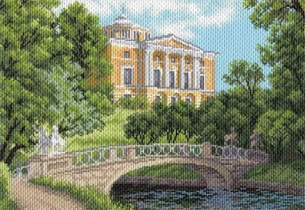 1680 Павловск - рисунок на канве (МП)