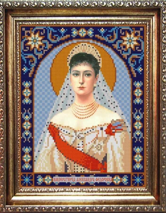 НИК 9334 Св. Александра - схема для вышивания (Конёк)
