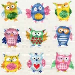 XEJ1 Slightly Dotty Owls