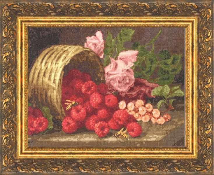 СМ-013 Розы и малина. Сельские миниатюры