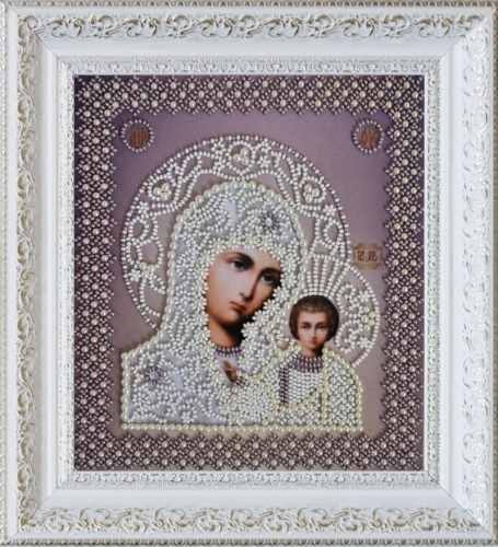 """Р-208 """"Казанская Икона Божией Матери. Венчальная пара"""" - набор для вышивания"""