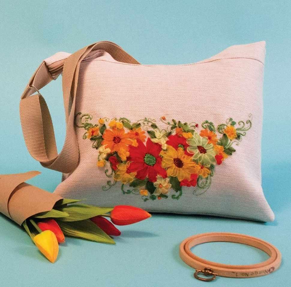 8514 Набор для шитья и вышивания - текстильная сумка набор