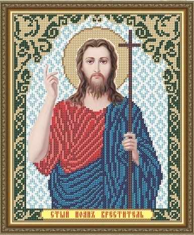 VIA4114 Иоан Креститель - схема для вышивания (Art Solo)