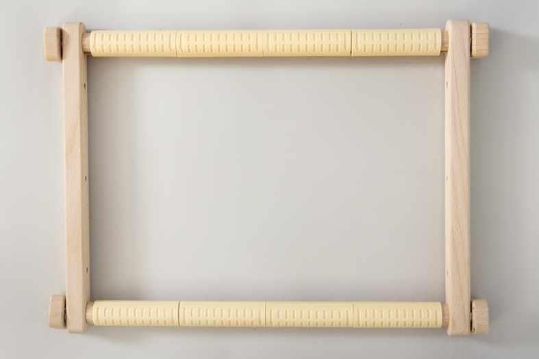 Пяльцы гобеленовые с клипсами, размер 20х24 см