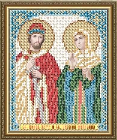 VIA5113 Св. Князь Петр и Св. Княжна Феврония - схема для вышивания (Art Solo)
