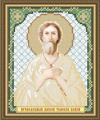 VIA5104 Преподобный Алексей Человек Божий - схема для вышивания (Art Solo)