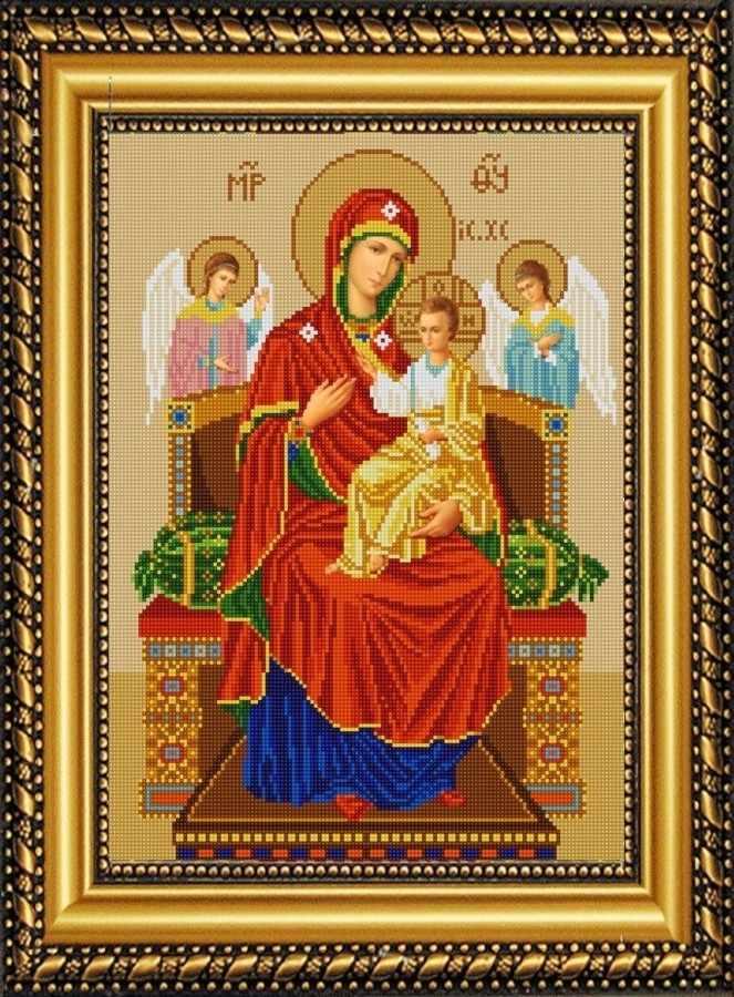 НИК 9219 Богородица Всецарица - схема для вышивания (Конёк)