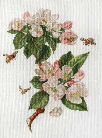 06.002.34 Цветущая яблоня