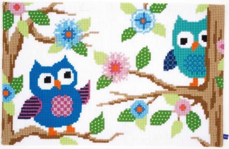 """PN-0153851 Коврик """"Беседующие совы"""""""