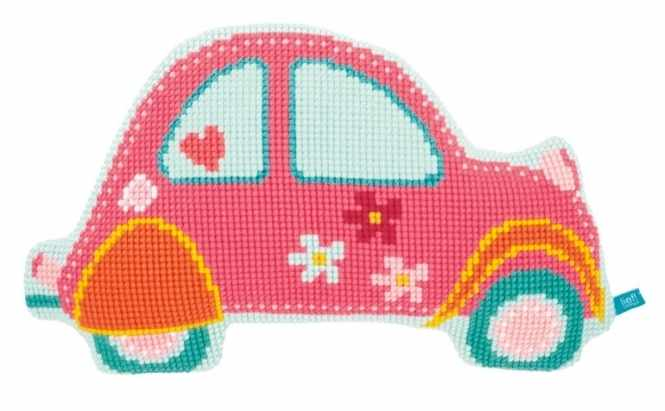 PN-0154490 Розовая машинка (Vervaco)