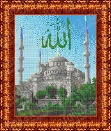 КБП 3029 Голубая мечеть - схема для вышивания (Каролинка)