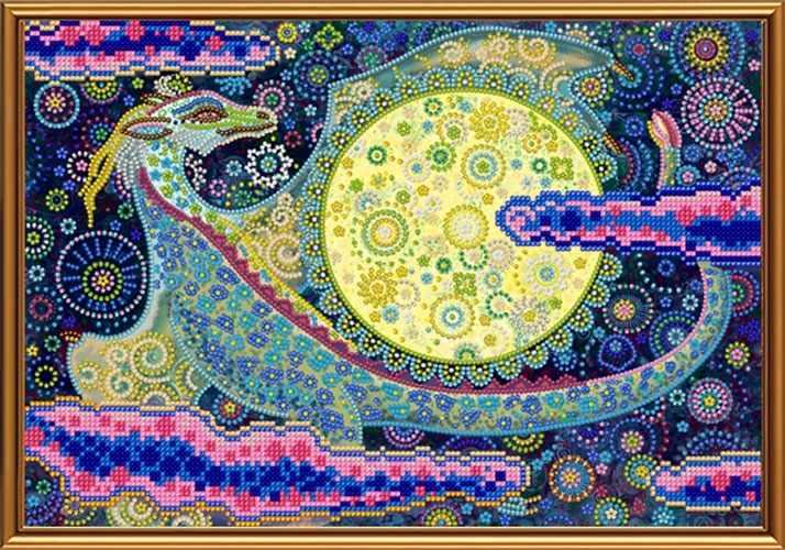 БИС 3300 Небесный дракон (рисунок на ткани)