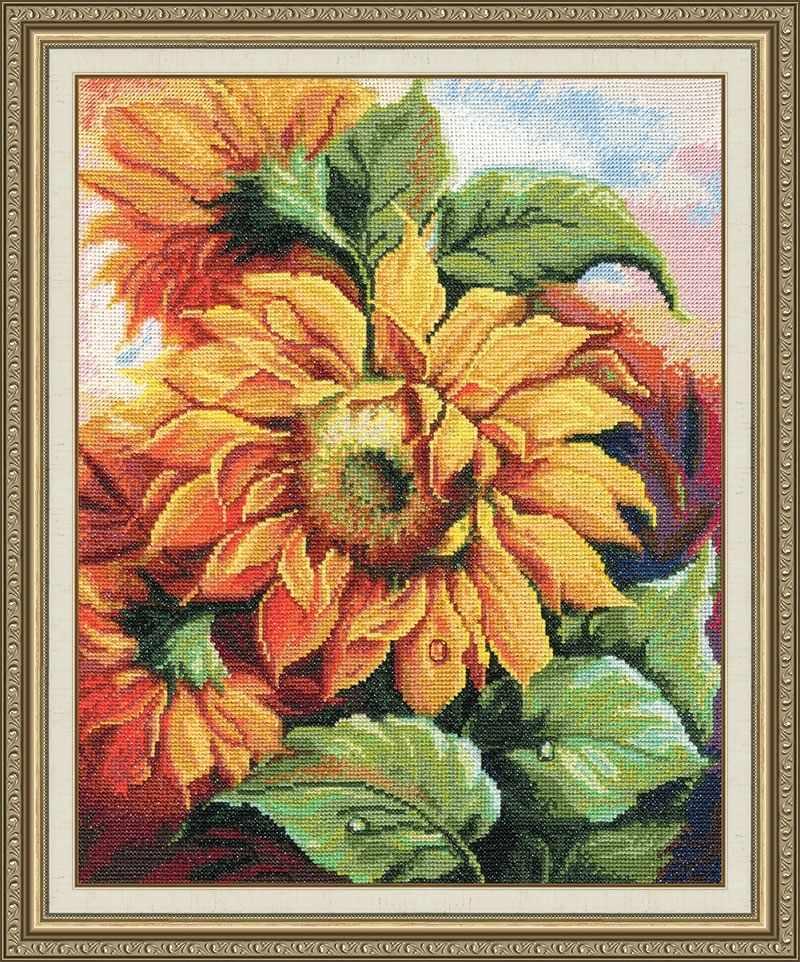 Т-011  Цветы  солнца №3