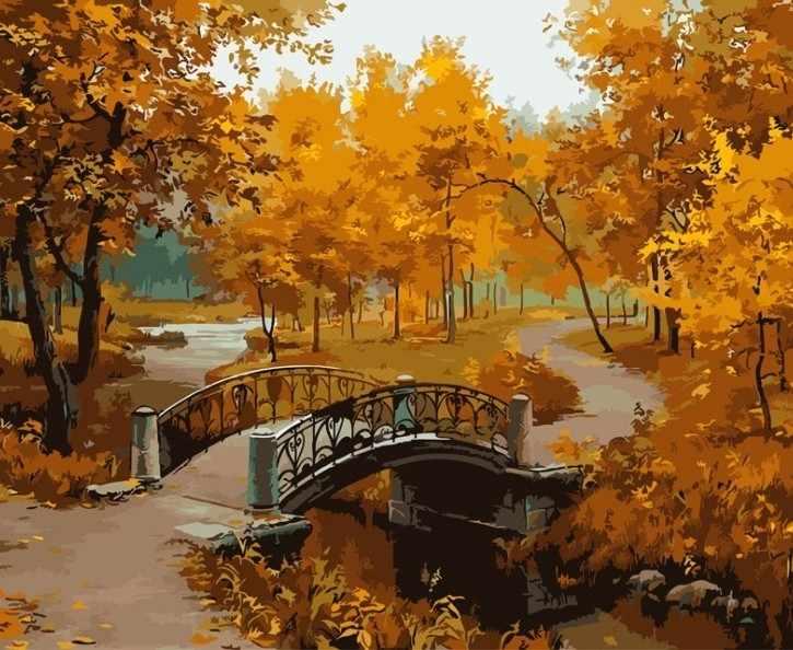 527-CG Осенний парк (Белоснежка)