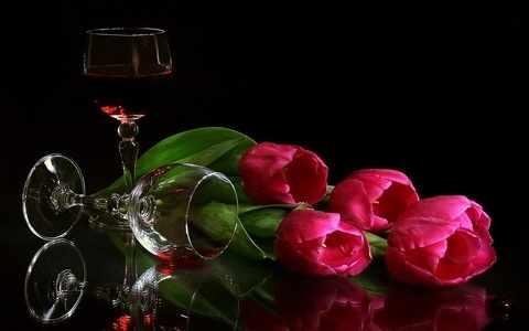Z-098 Тюльпаны - мозаика Милато