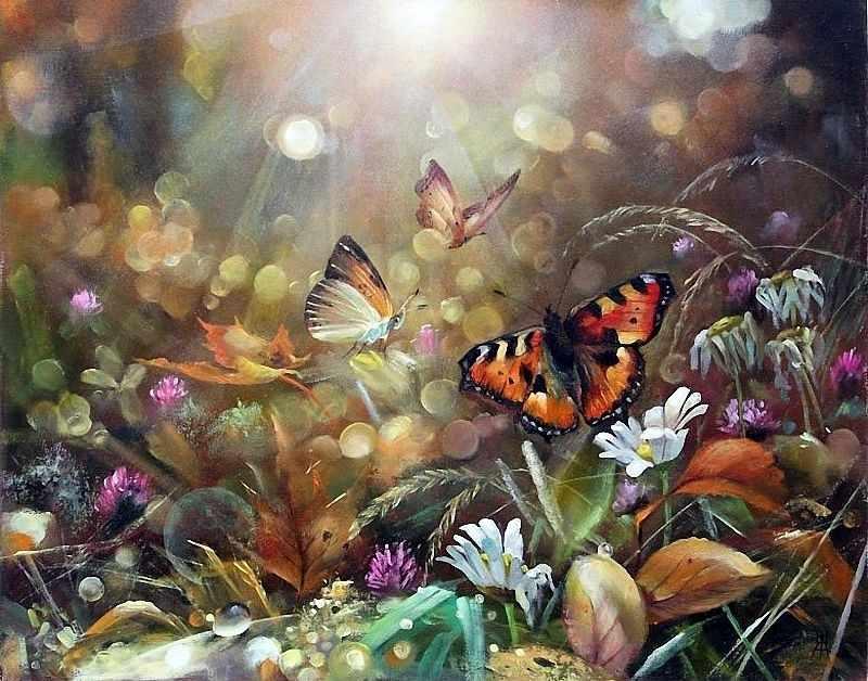 N-278 Волшебное утро - мозаика Милато
