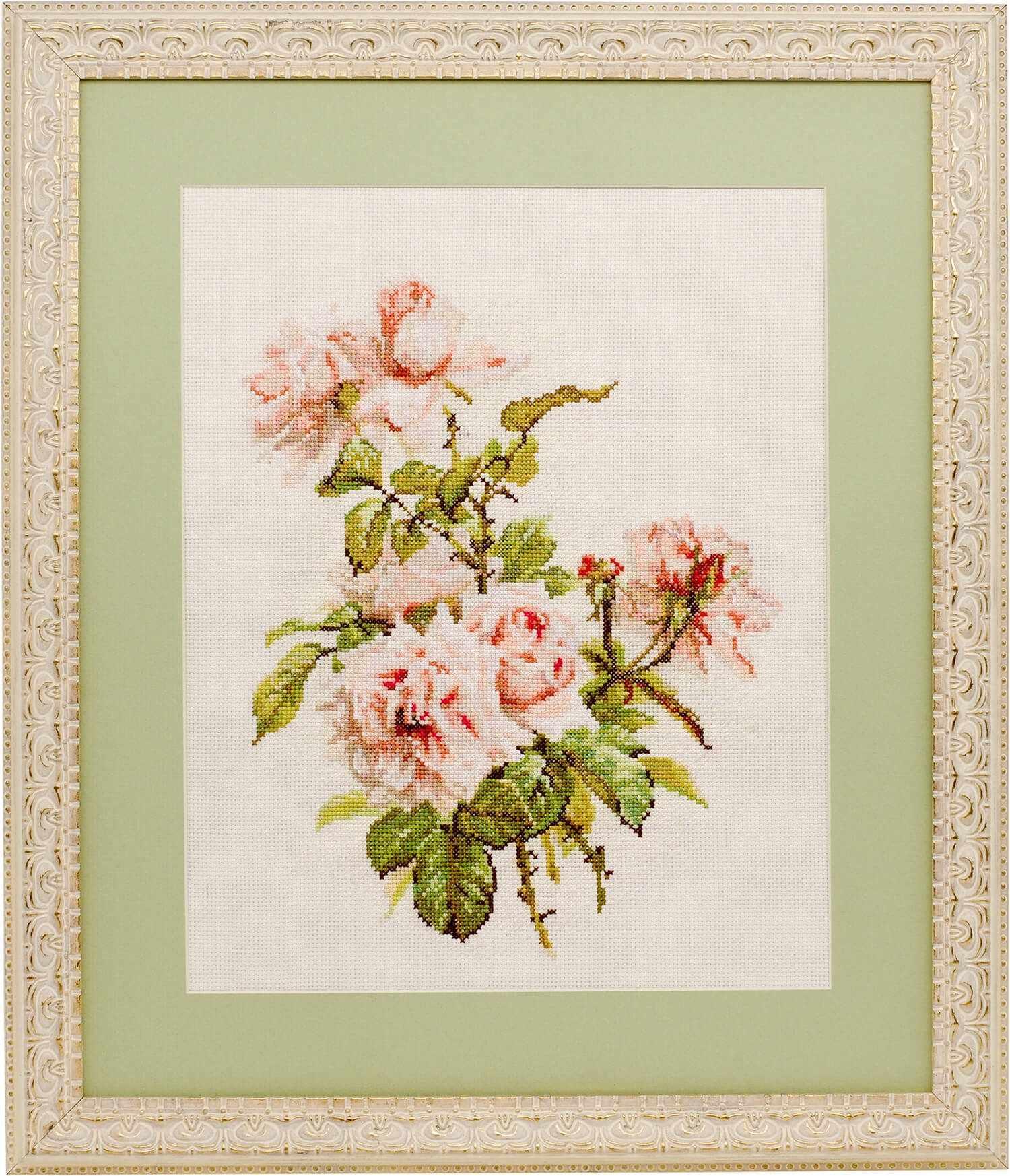 0007 Розовые розы