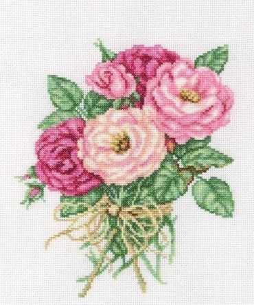 М563 Букетик роз