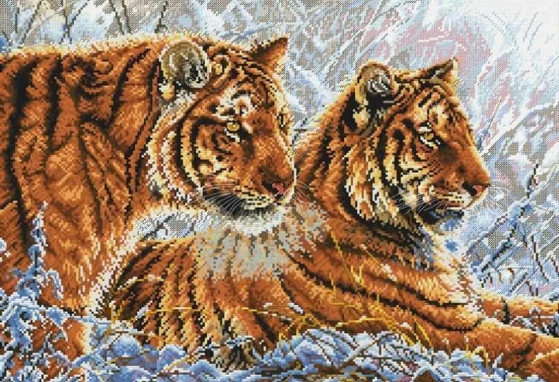 2333-14 Амурские тигры
