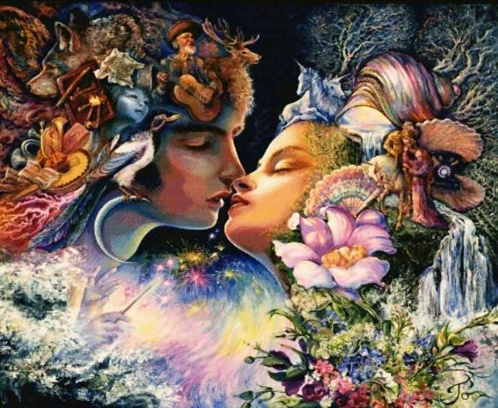 5012-14 Фантазия поцелуя