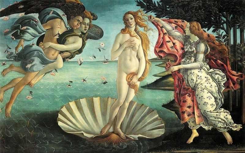 O-588 Рождение Венеры - мозаика Милато