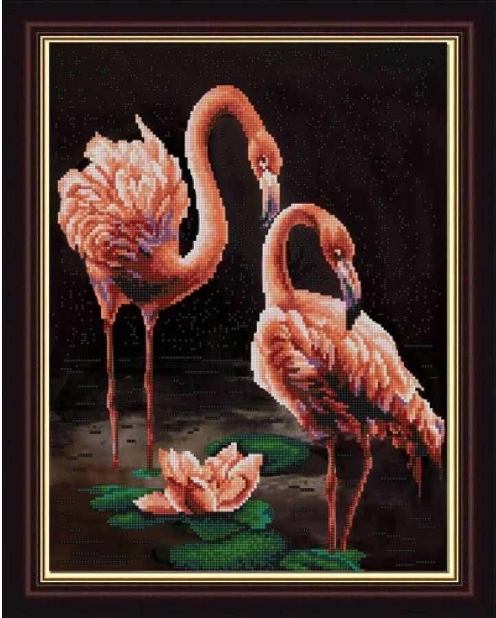 НИК 9835 Фламинго - схема для вышивания (Конёк)