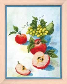 """ВТ-502 """"Акварельные яблочки"""" - чм"""