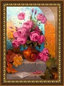 Y-009  Натюрморт с розами