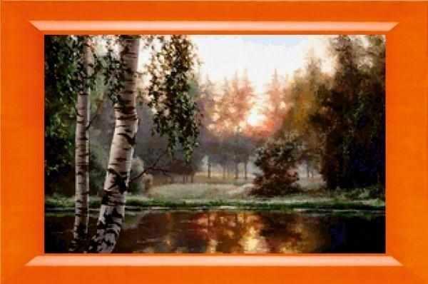 N-318  Лесное озеро