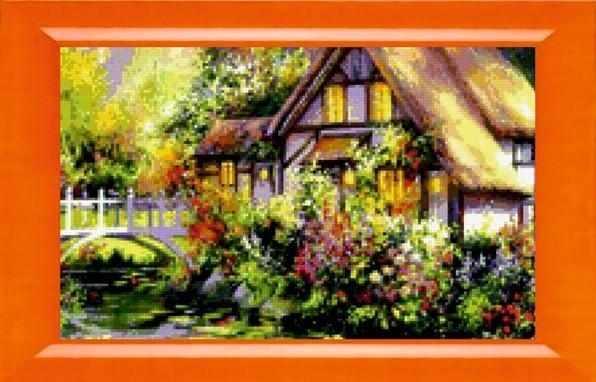 N-304  Цветник у дома