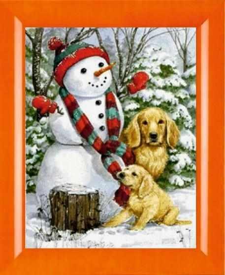 N-309  Игры со снеговиком