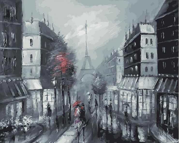 032-AB Париж (Белоснежка)