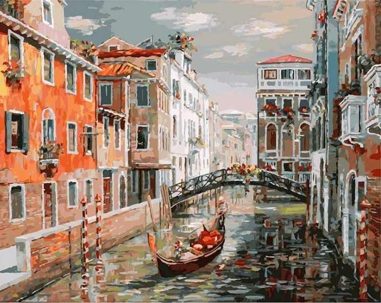 125-AB Венеция. Канал Сан Джованни Латерано (Белоснежка)