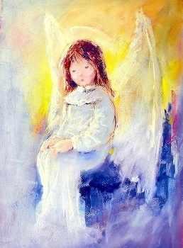 O-576 Печальный ангел - мозаика Милато