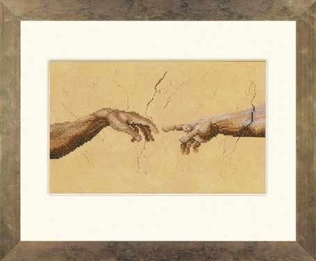 PN-0007975 Сотворение Адама. Микеланджело (Lanarte)