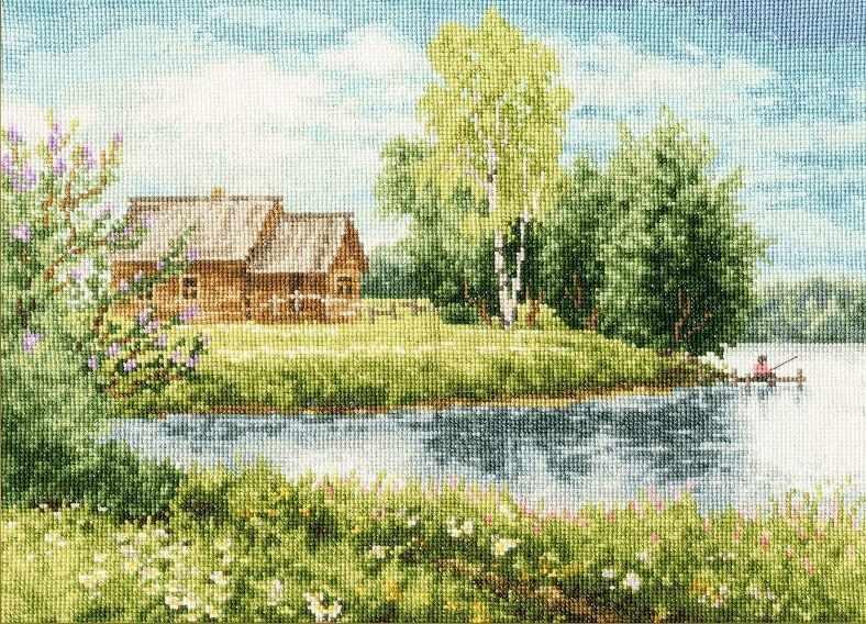 МД-016 Домик у озера