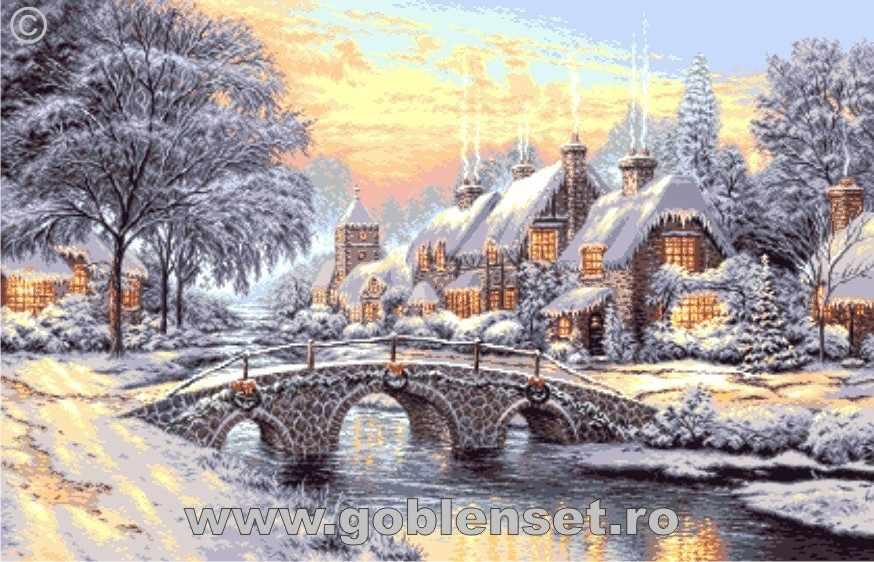0993 Зимний закат