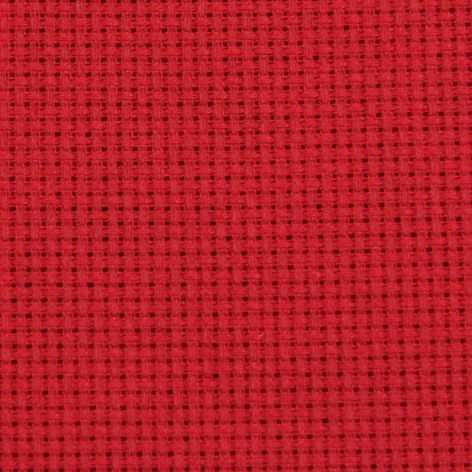 Канва Gamma К04 Аида красный 50*50 14ct 55/10 кл.