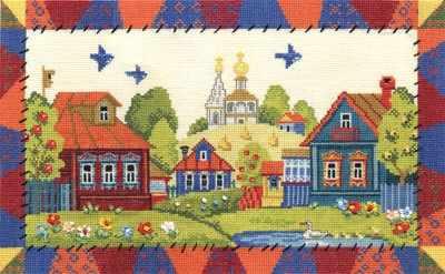 """ДЕ-1055 """"Деревня Лужайкино"""""""