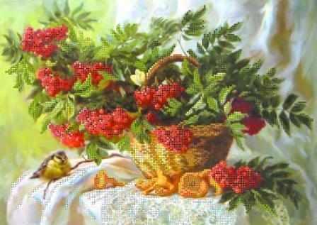 10000 Дары осеннего леса - схема для вышивания (Матрёнин посад)