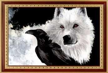 040 Волк и ворон