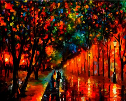 A011 Вечерняя прогулка