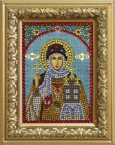 Алмазная вышивка 0310 Ольга - картина стразами (Преобрана)