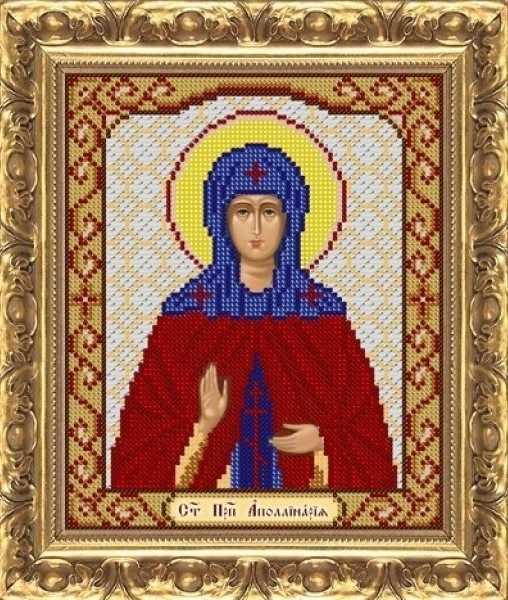 ИП-1105 Св. Преп.  Апполинария - схема для вышивания (Велисса)