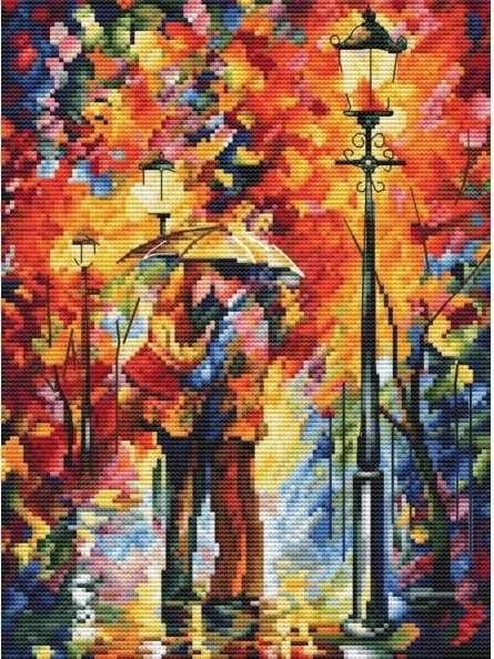 980-14 Поцелуй под дождем (Белоснежка)