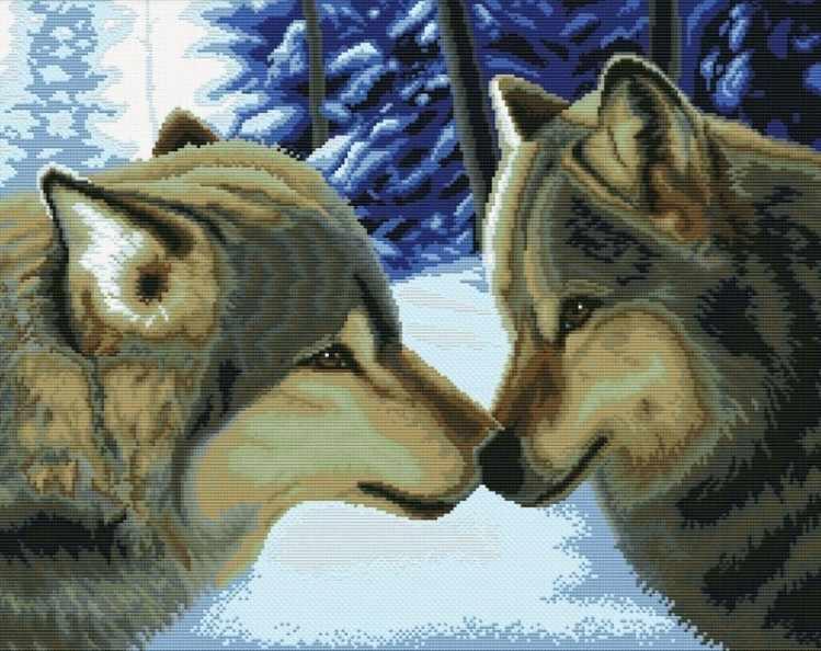7560-РК Два волка