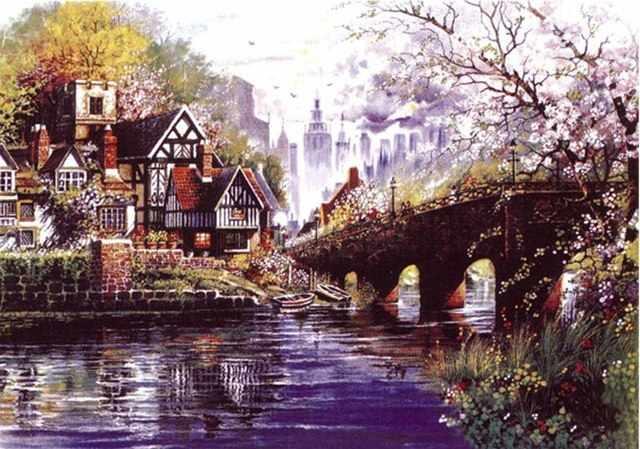 1782-14 Домик у реки