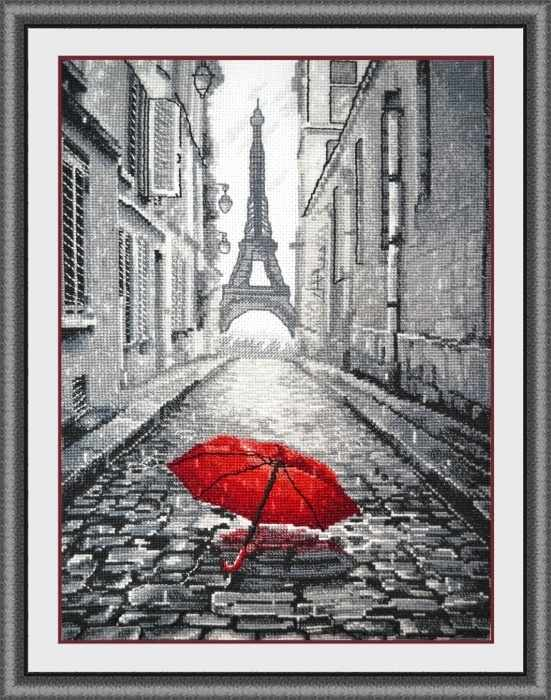 868 В Париже дождь