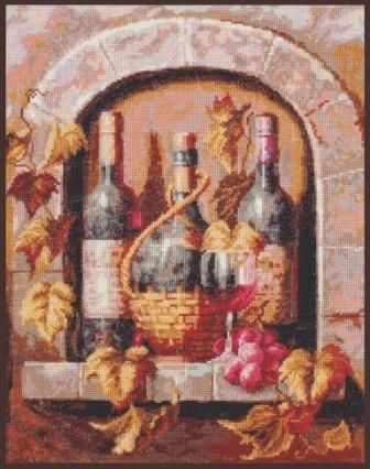 "04.004 ""Натюрморт с вином"""