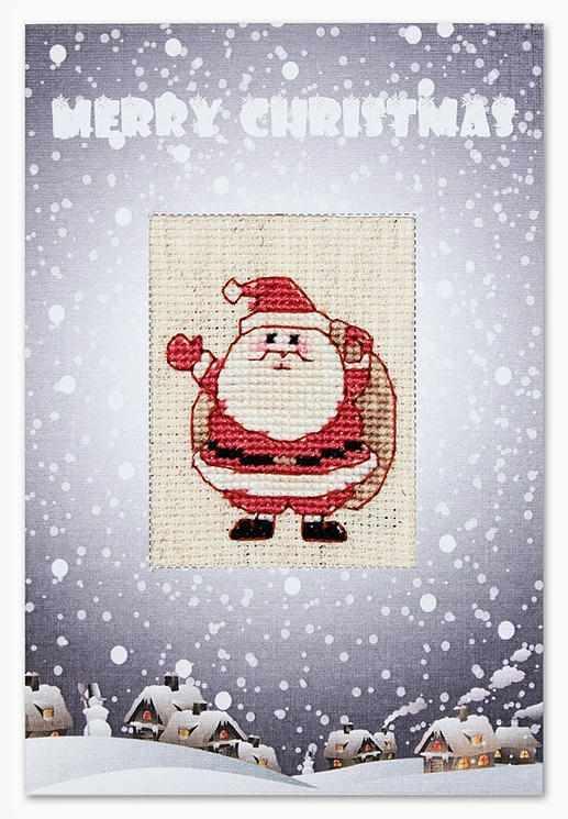 """(S)P-37 Набор для изготовления открытки """"Merry Christmas"""""""